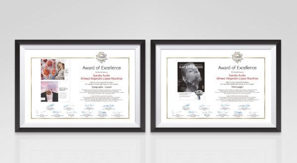 9th ICMA Design Award Alejandro Lopez diseñador grafico